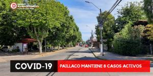 Paillaco mantiene 8 casos activos.