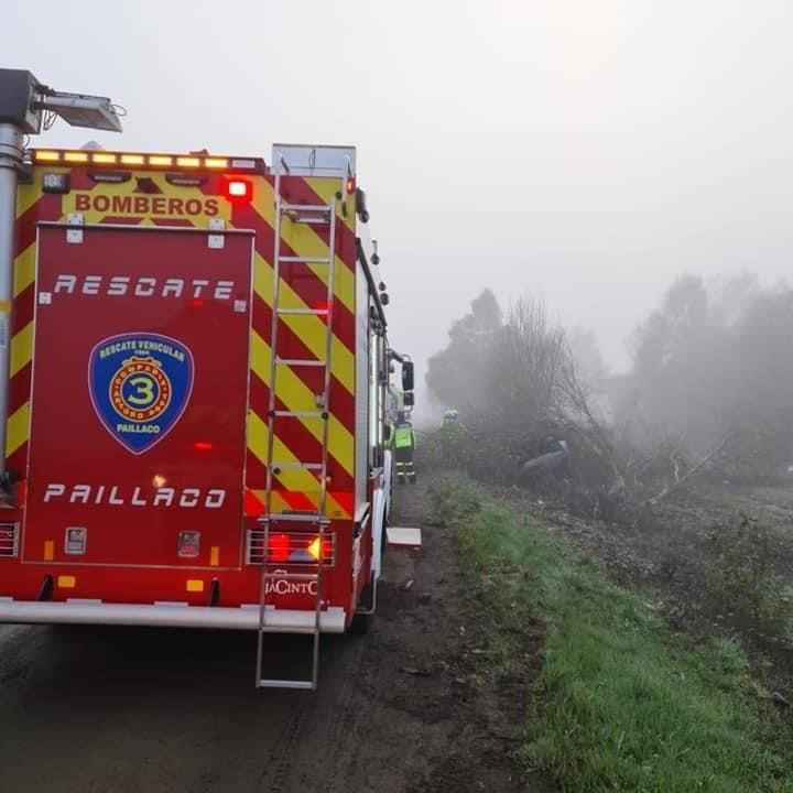 Volcamiento de vehículo deja una víctima fatal en Sector Demaihue