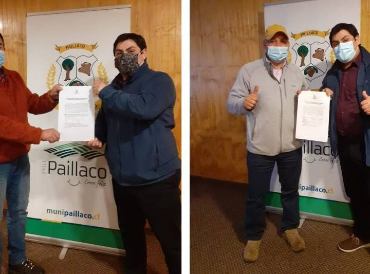 Municipalidad de Paillaco entregó comodatos a dos importantes organizaciones de Santa Rosa Chica