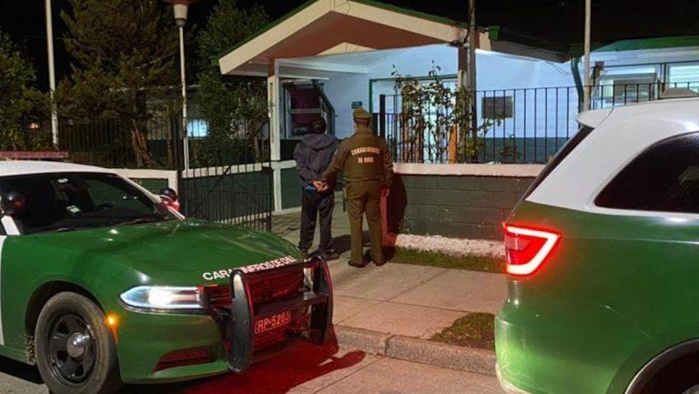 Detienen a hombre que persiguió a su vecina amenazándola con un hacha en Paillaco