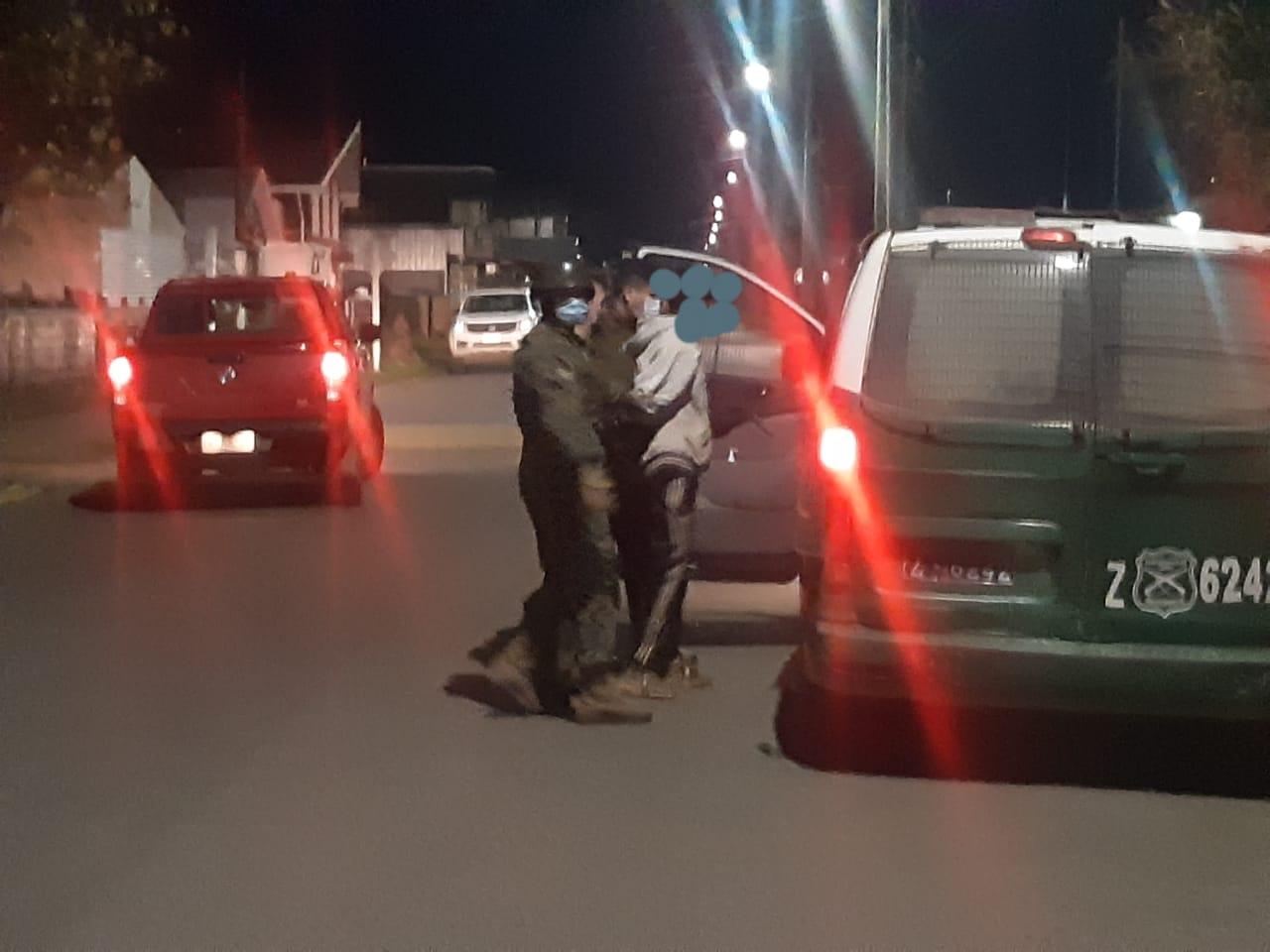 Procedimiento por intento de robo en Cesfam de Paillaco termina con una persona detenida.