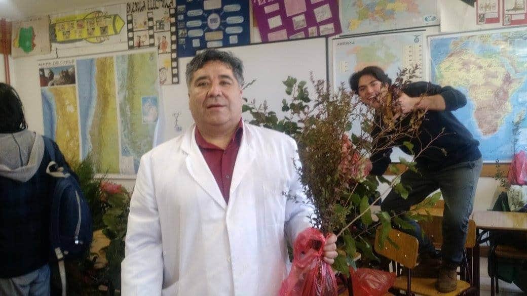 Israel Gallardo sigue inspirando en lo pedagógico y luchando contra el cáncer