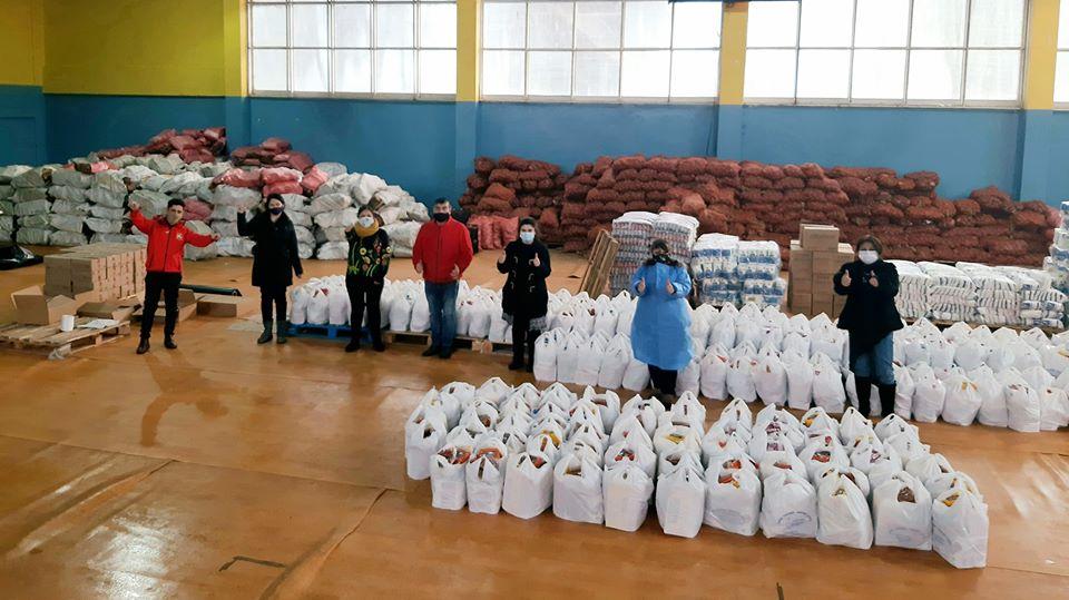 Municipalidad de Paillaco comenzó entrega de 1.200 canastas de alimentos para el mes julio