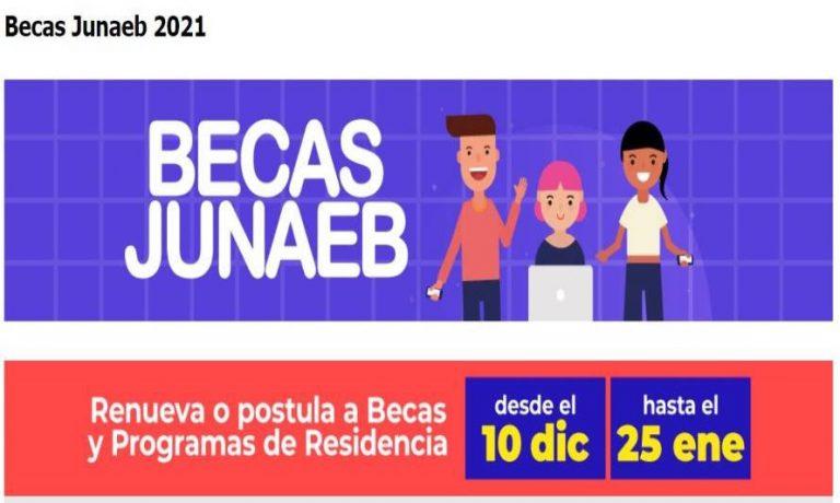 Hasta el lunes 25 de enero, estudiantes podrán postular y renovar Becas